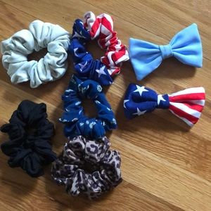 American Apparel Scrunchies and Bows